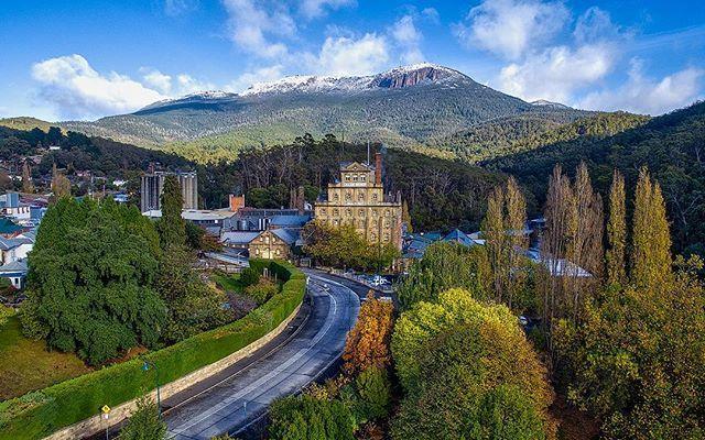 The Cascade Brewery in Tasmania by @tassiegrammer on insta.