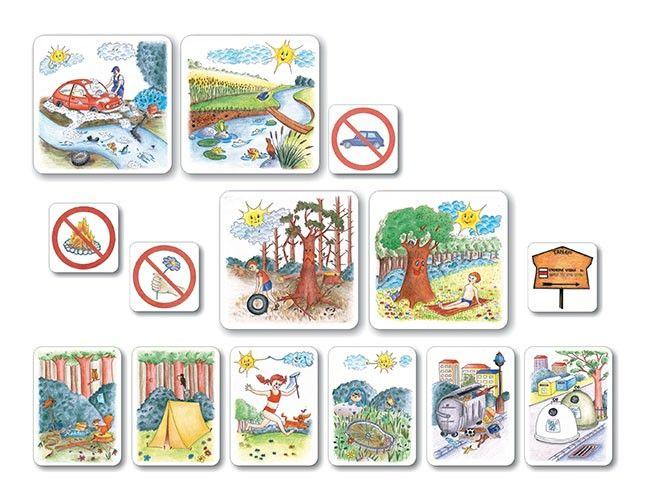 Chránime prírodu - Ochrana prírody - Prírodoveda - Učebné pomôcky