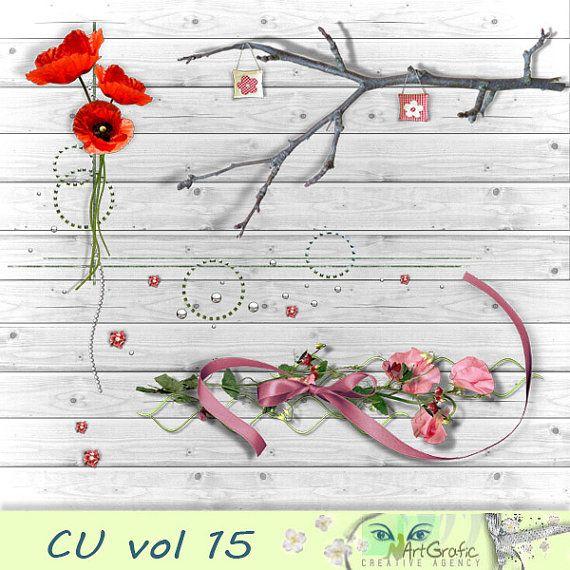 Digital  Elements for  Commercial Use CU vol 15 by ArtGraficStudio