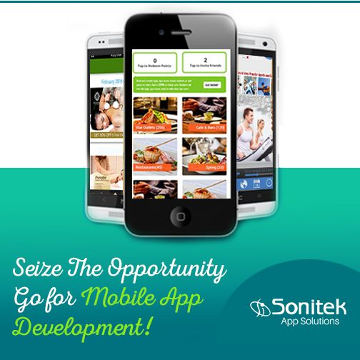 Mobile Technology Will Make Your Business More Attractive to Customers. Know More here: http://www.sonitekapps.com  #AppsforEveryone