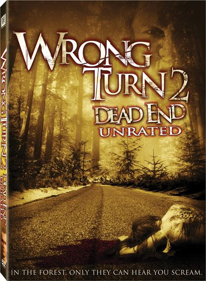 wrong turn 2 dvd collection pinterest wrong turn