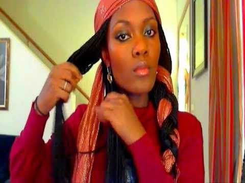 DIY PLAYLIST starting with #1: Stylish ways to wear head scarfs braided method