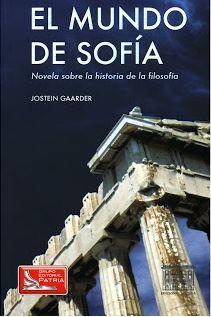 BIBLIOTECA SOLIDARIA: El mundo de Sofía. Jostein Gaarder