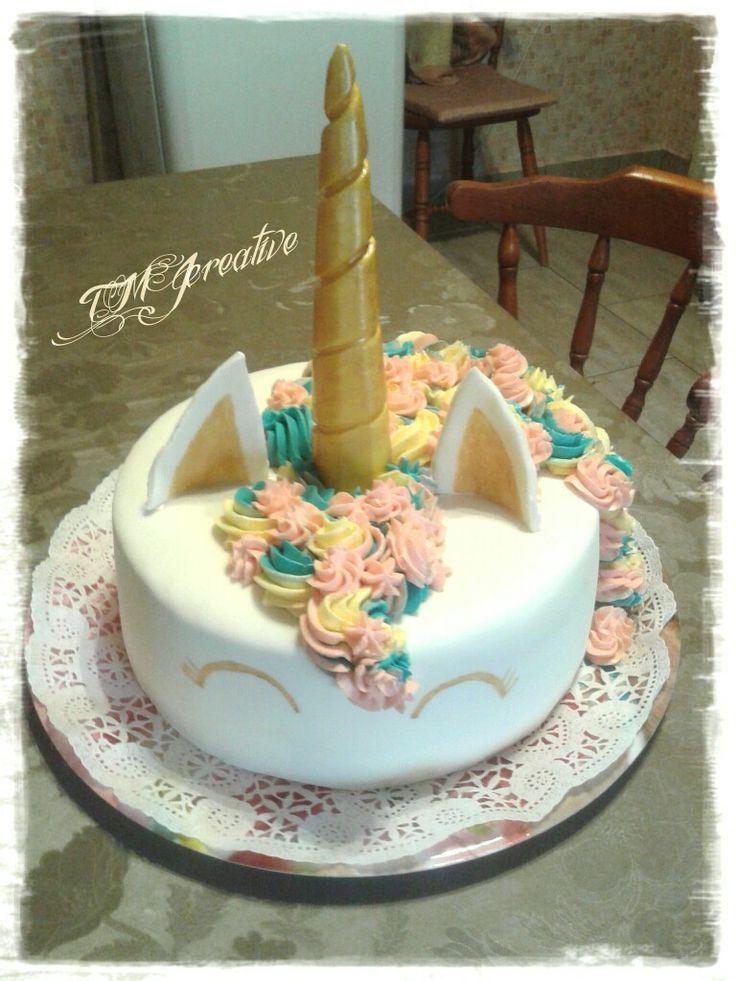 #TMJcreative #birthdaycake #unicorncake #szülinapitorta