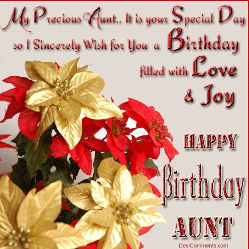 happy birthday wishes | Birthday Wishes for Aunt Pictures, Images, Scraps for Orkut, Myspace
