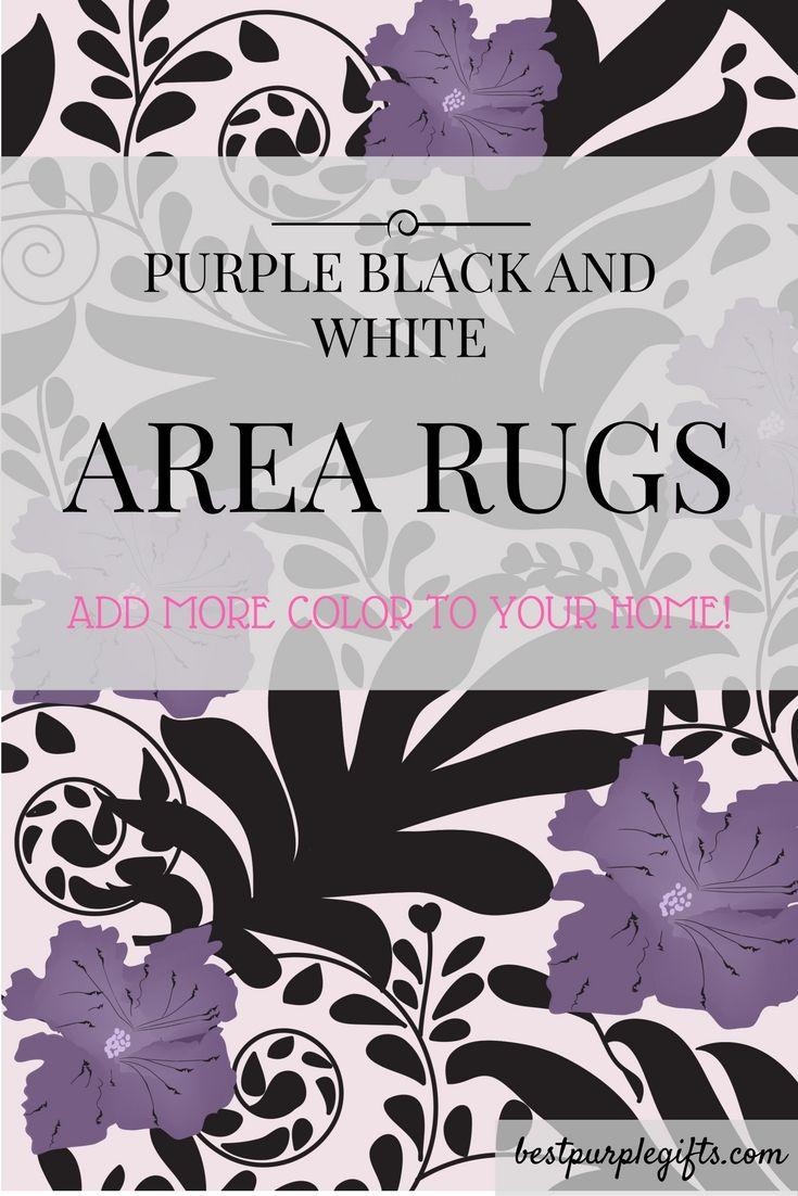 Pin baroque bed purple velvet fabric with rhinestones and black - Black Purple White Room Black Purple White Bedroom Purple Area Rugs Purple Area