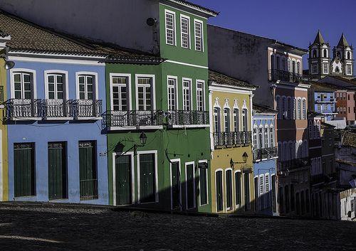 As cores do Brasil - Pelourinho, Salvador, Brazil