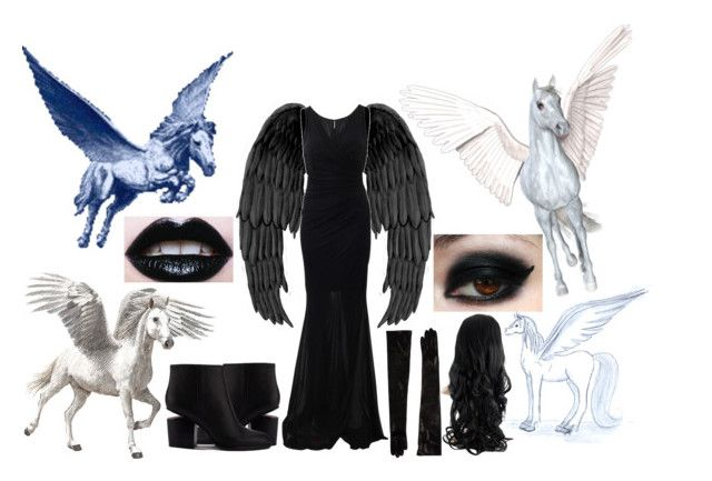 """Pegasus"" by slytheriner on Polyvore"