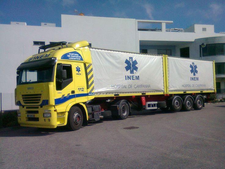INEM Portugal- Field Hospital.