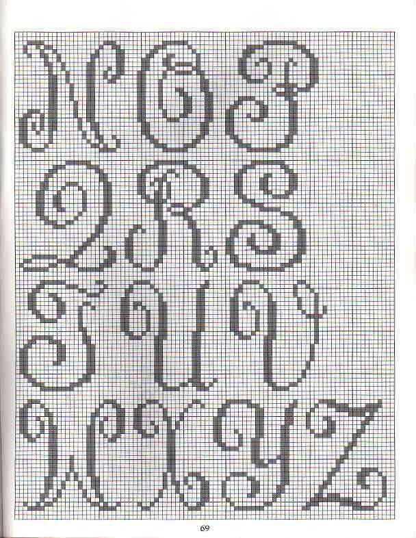 Pin de Maria Luisa en abecedarios de punto + | Pinterest ...
