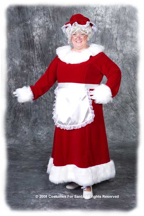 Complete Mrs Claus Outfit