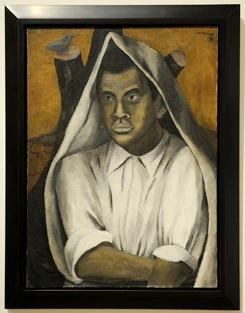 Self-portrait, Rufino Tamayo