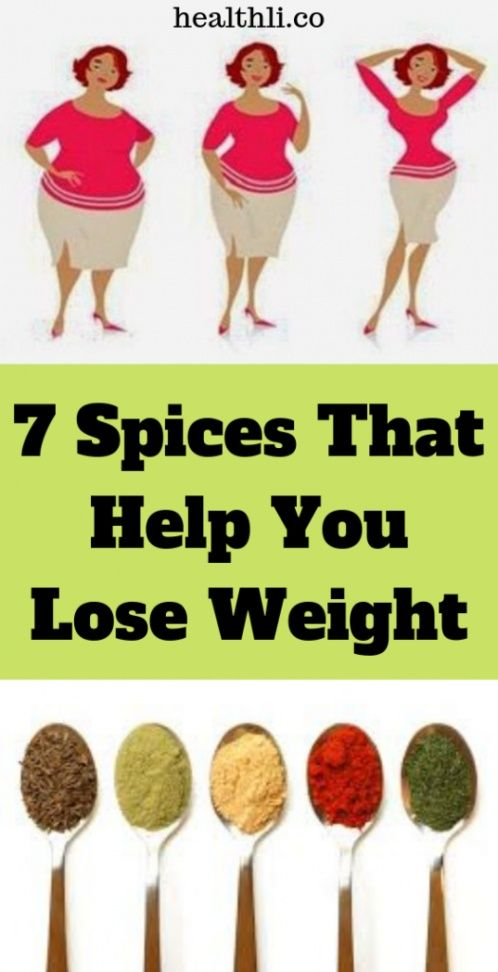 7 Spices that Help You Lose Weight ! – Weight Loss !