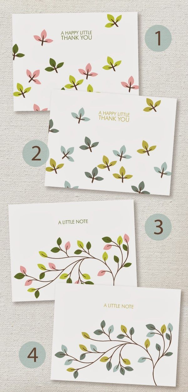 Tarjetas Thank You de flores // lemon squeezy: Free Card Downloads