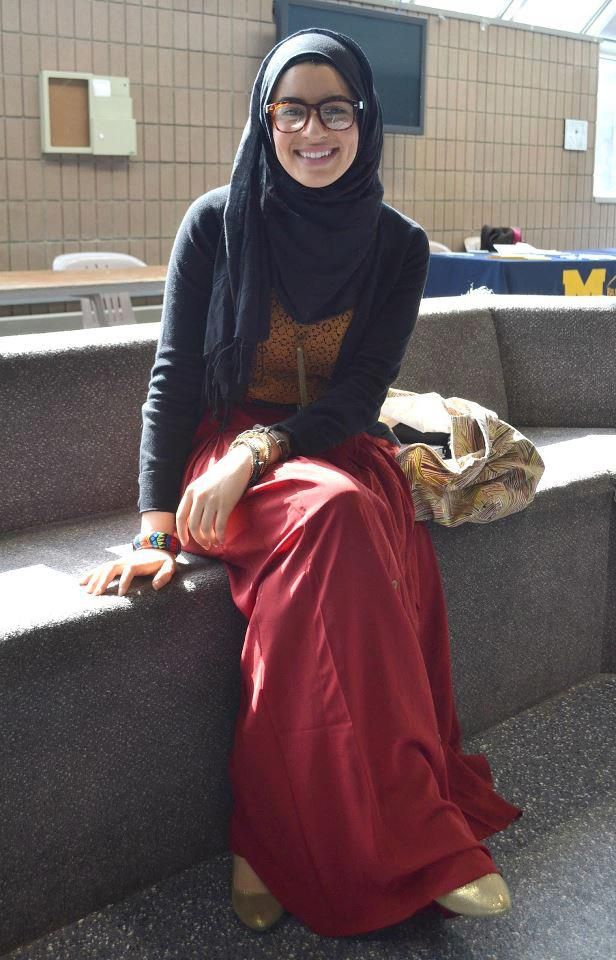 University Hijabi Style