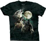 The Mountain Three Wolf Moon Short Sleeve TeeMountain Three, Sleeve Tees, Moon Shirts, Moon Shorts, Shorts Sleeve, Wolves, Moon T Shirts, Three Wolf Moon, Threewolfmoon