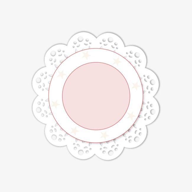 Flower circle, Frame, Colored Ribbon, Advertising Design PNG Image