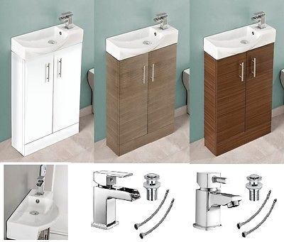 pin by on bathroom cloakroom vanity unit. Black Bedroom Furniture Sets. Home Design Ideas
