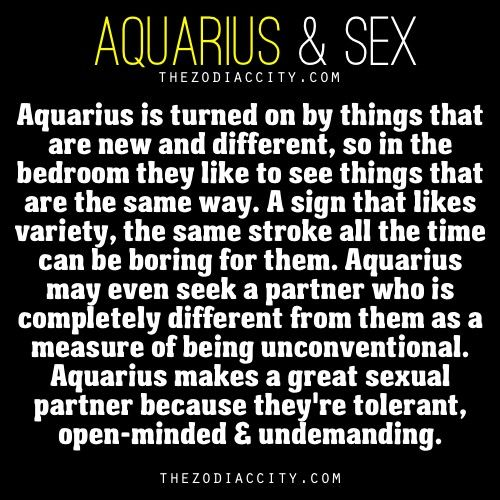Aquarius male dating traits