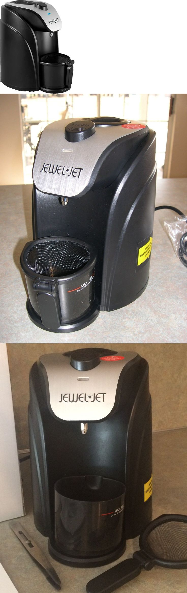 Jewelry Cleaners and Polish 67720: Jewel Jet Jewelry Steam Cleaner--Dented Box--Never Used -> BUY IT NOW ONLY: $79.99 on eBay!