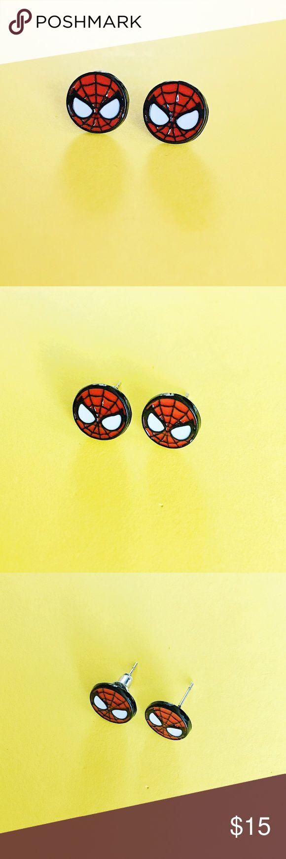 Spider-Man Earrings Brand new, never worn pair of stud earrings! Spider-Man! Jewelry Earrings