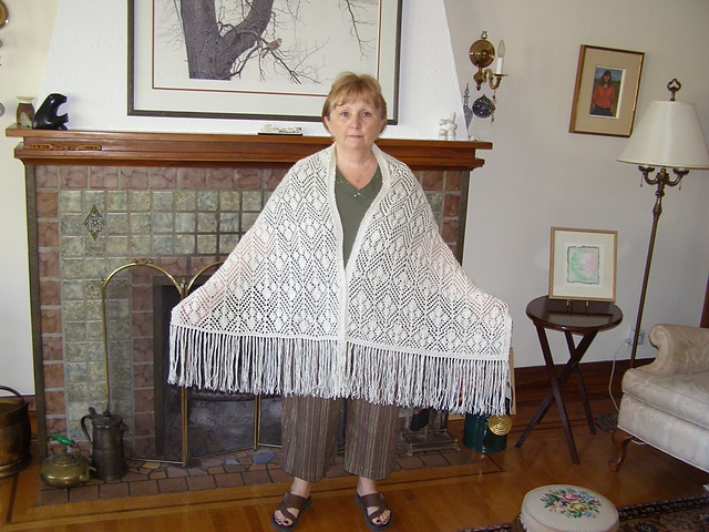 Ravelry: MisenerKnitz's ethels shawl