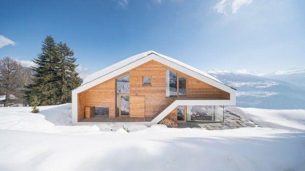 Dit chalet in Zwitserland is gebouwd voor een Nederlandse opdrachtgever