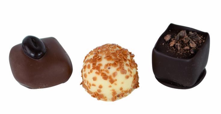 Elvee Belgische pralines: ook deze met échte Belgische Callebaut chocolade!
