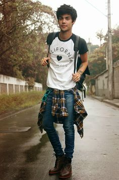 grunge fashion men - Google Search                                                                                                                                                                                 More