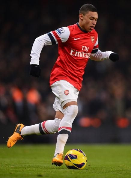 ~ Alex Oxlade-Chamberlain on Arsenal FC ~