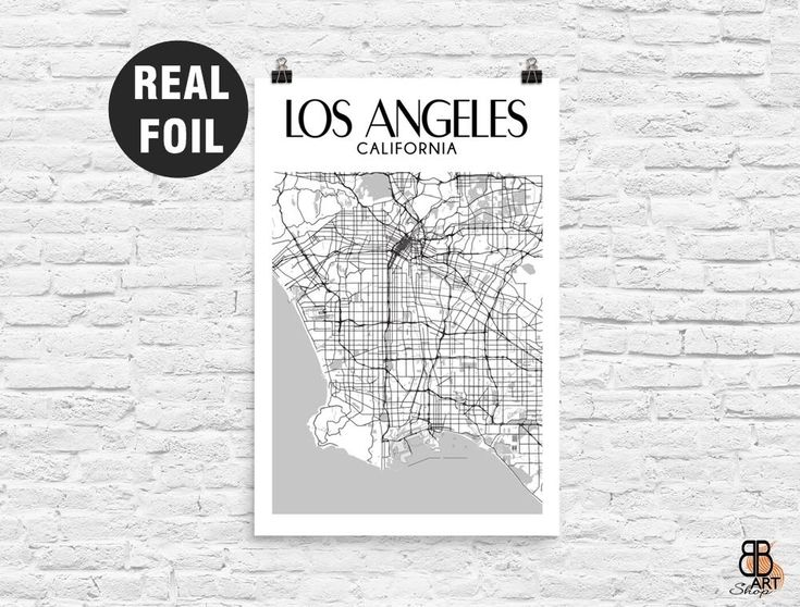 Los Angeles Poster, Los Angeles Print, Los Angeles Map, Los Angeles Art, Los Angeles, Los Angeles Map Art, LA, Los Angeles Wall Art Gift by BBartshopStudio on Etsy