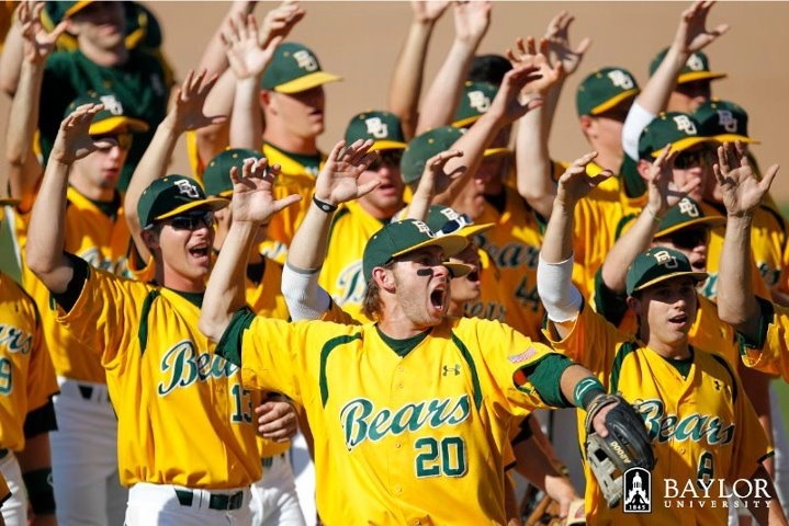 Baylor Baseball. Yep. I'm excited. And I don't even watch baseball.