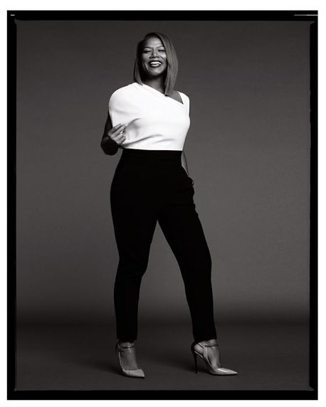 CROWN HEIGHTS: QUEEN LATIFAH | INSTYLE MAGAZINE MAY 2014  CREDITS: Photos by Jan Welters, Styling by Timothy Snell, Makeup by Sam Fine and Hair by Iasia Merriweather