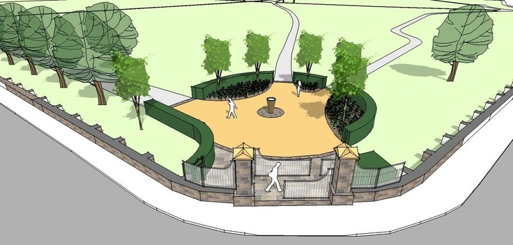 Victoria Park: entrance enhancement