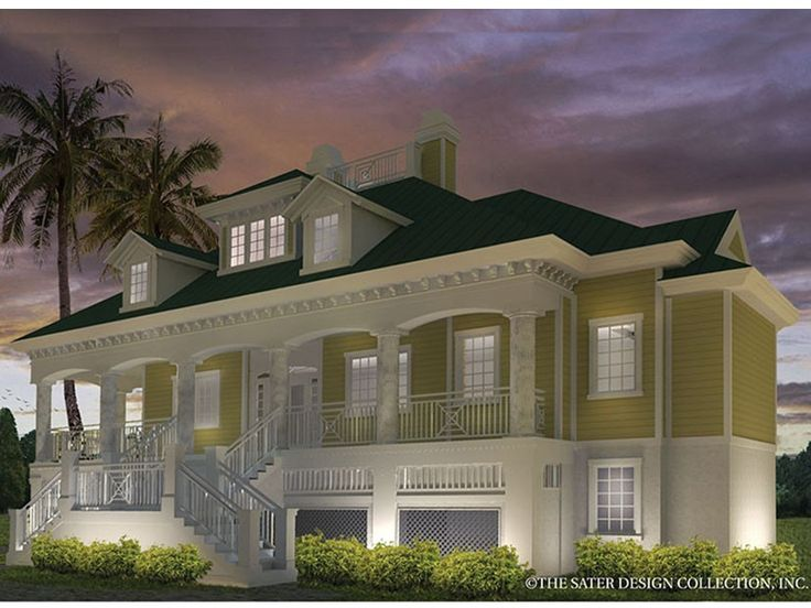 Best 25 low country homes ideas on pinterest southern for One story low country house plans