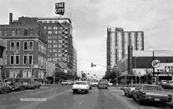 Star Of Texas >> Street Scene, Wichita Falls, Texas late 1970s | Lone Star | Pinterest | Wichita falls, Wichita ...