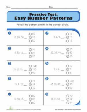 17 best ideas about number patterns worksheets on pinterest next children preschool. Black Bedroom Furniture Sets. Home Design Ideas