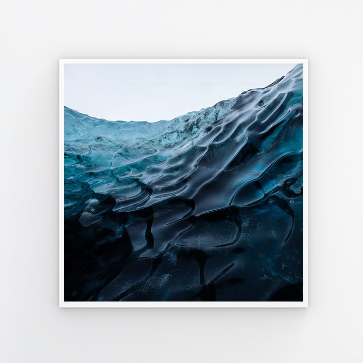Frozen Water, 2017. 12x12 - $275 20x20 - $375 24x24 - $450 30x30 - $575 The total cost is all inclusive: print, materials, processing, mat, frame, shipping and tax. It will be shipped directly to you from Artifact Uprising, ready to hang. Please allow 2-3 weeks for arrival. My prints