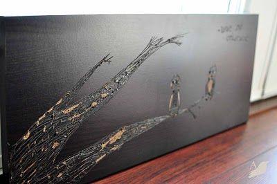diy wood burning wall art #idea #craft #decor #home