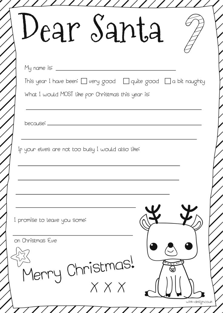 free printable santa letters for toddlers dear santa letter let s talk about to santa 16671