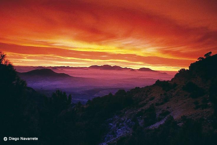 Los atardeceres en Cazorla (Jaén) tienen un color único / The sunsets in Cazorla…