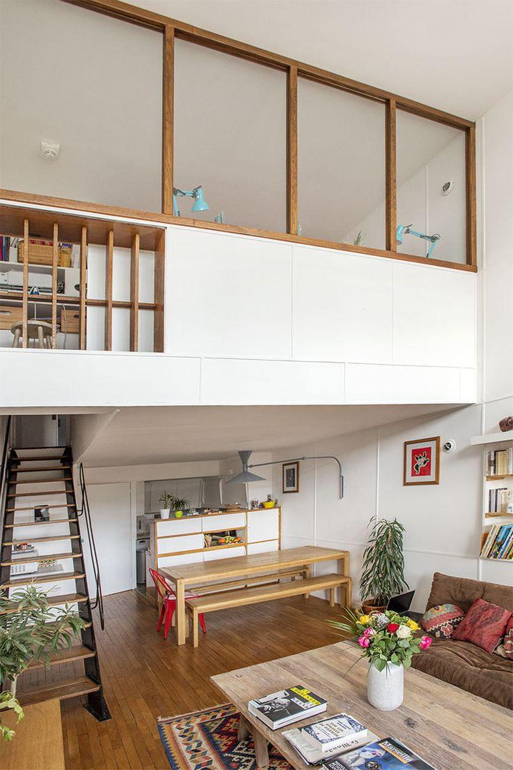 Marseille : Duplex Le Corbusier «montant»