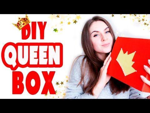 """DIY Подарки на День Рождения для ДЕВУШКИ * """"Queen BOX"""" 7 разных ИДЕЙ * Bubenitta - YouTube"""