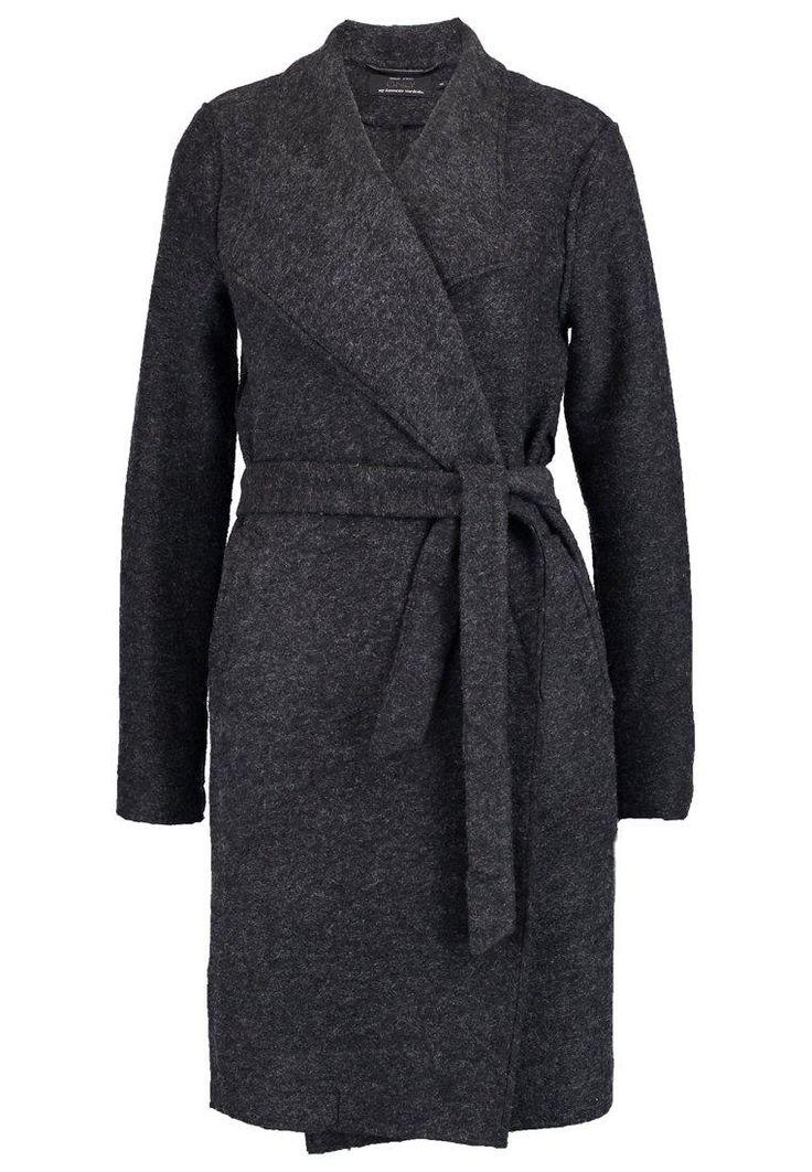 ONLY ONLUMA Płaszcz wełniany /Płaszcz klasyczny dark grey melange image