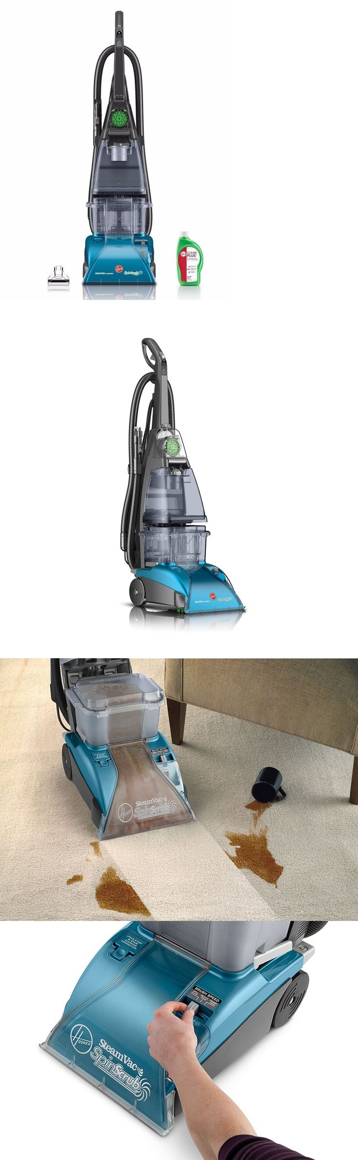 Carpet Steamers 79656: Carpet Cleaner Machine F5914900 Hoover Steamvac With Clean Surge Household New -> BUY IT NOW ONLY: $173.46 on eBay!