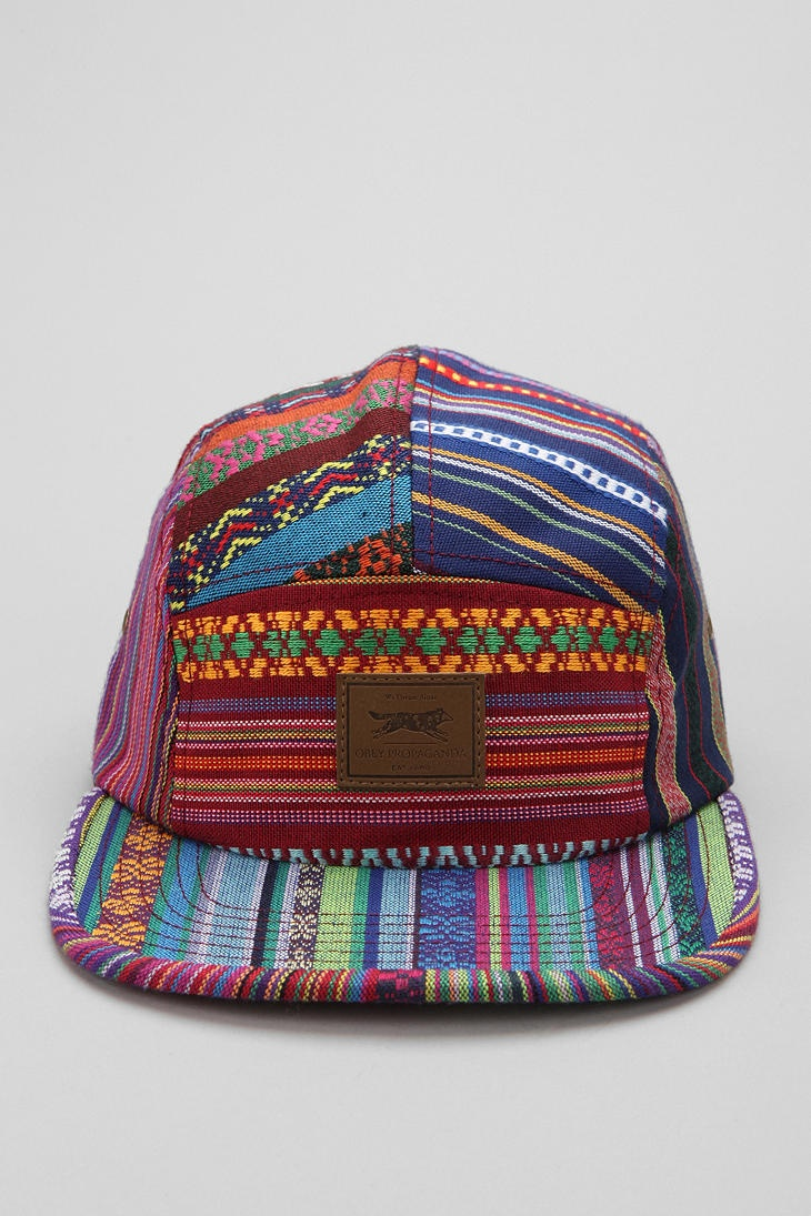 OBEY Gaucho 5-Panel Hat @Mandy Lee @Mandy Raymer (whichever you are) this is on sale from urban and it looked like nick might likeeeee :)