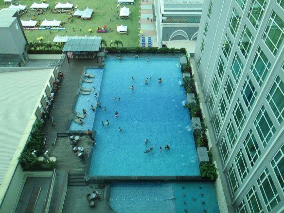 Swimming pool at Hatten Hotel, #Melaka #Malacca, #Malaysia. #travel #luxury #hotel