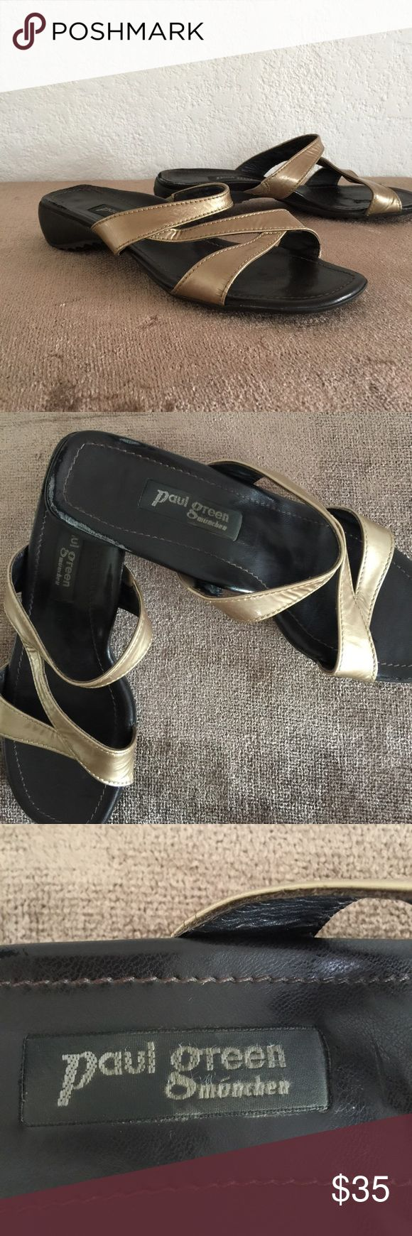 Paul Green Munchen sandals Pre owned: Paul Green munchen women's sandals Paul Green Shoes Sandals