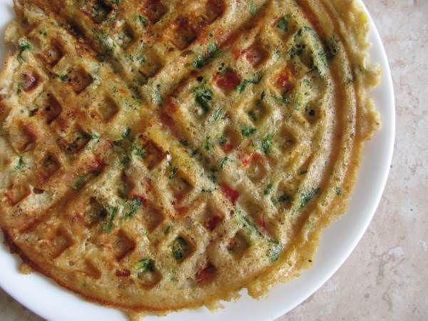 savoury waffle | Healthy meal ideas | Pinterest