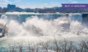 Groupon - Stay with Couples or Family Package at Embassy Suites by Hilton Niagara Falls in Ontario. Dates into June.  in Niagara Falls, ON. Groupon deal price: $89